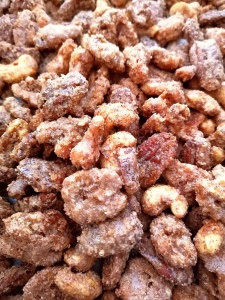 cinnamon spiced nuts